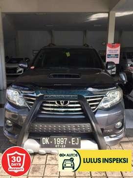 [Lulus Inspeksi]Fortuner TRD vnt diesel 2013 Asli Bali Manual (langka)