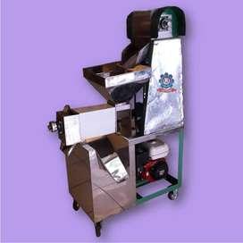Mesin parut kelapa dan peras santan kelapa