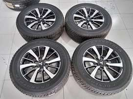 JKW velg second pajero ring 18 + Ban