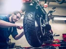 Bike mechanic required urgently