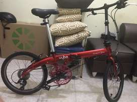 Sepeda lipat dahon vybe upgrade