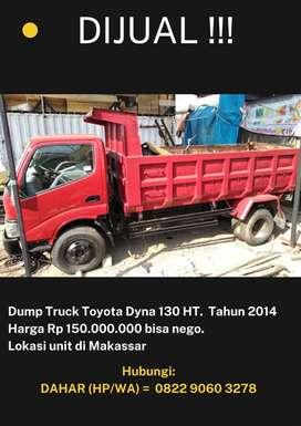 Dijual Dump Truck Toyota Dyna 130 HT