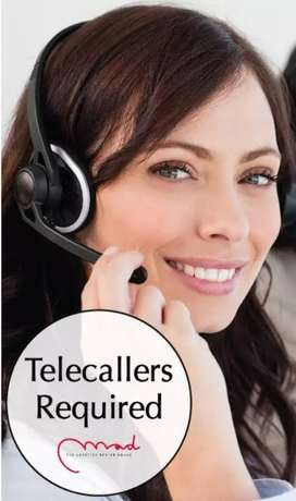 Urgent requirement for telecallers (females) salary plus  incentives