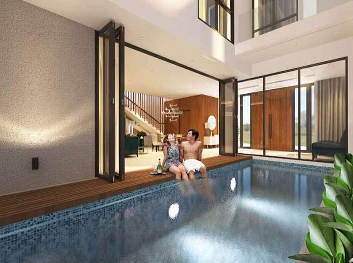 Magnifera8, Rumah Mewah Private Pool Kahuripan Nirwana