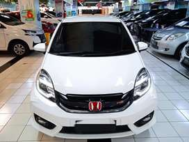 Honda Brio RS 1.2 manual tahun 2017 warna putih