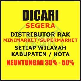 Rak Supermarket Gondola  Bahan BAJA - Bergaransi - Peluang Distributor