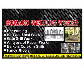Welding works at your home