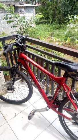 (NEGO) Sepeda Gunung Kondisi Bagus tidak ada kerusakan