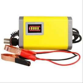 Charger Aki Dengan LED Battery meter