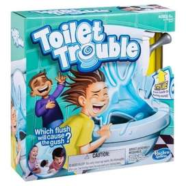 Toilet Trouble Challenge Board Game