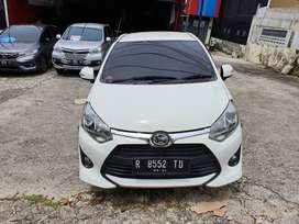 Toyota Agya 1.2 S TRD MT tahun 2019 warna putih siap pakai