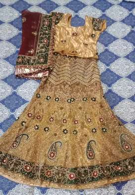 Heavy Bridal lehnga .