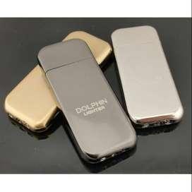 Korek Api Gas Mini Tipis Slim aluminium Butane Zippo