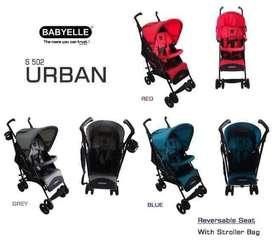Stroller BabyElle Urban Stroler Reversible Seat Kereta Dorong Bayi