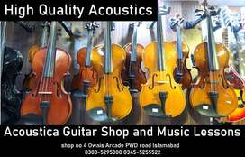 branded Acoustic and semi acoustic Violins