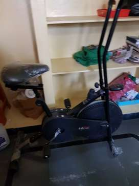 A tread mill and cycle for fitness