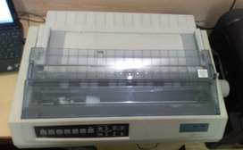 TVS HD 745 DMP 132 Column, new printer