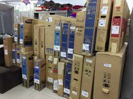 Led tv on wholesale rates with warranty and exchange offer
