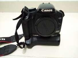 Canon 450D Full SET Lengkap seperti di foto