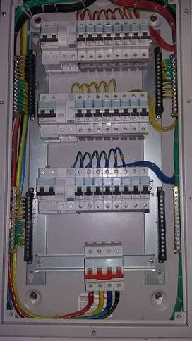 all type of electrical and plumbing work