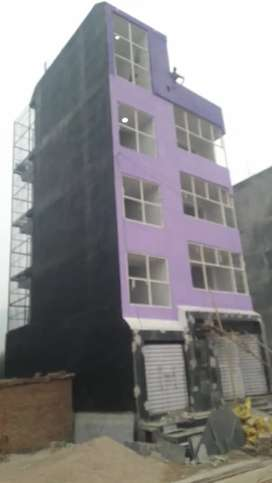 Multistorey building for commercial and residential purpose