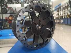 Velg HSR BAHOROK ring 18 pcd 5x114,3 bisa buat rush inova xpander crv