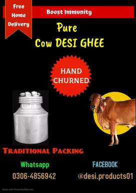 Home made Desi(Organic) Ghee (Free home delivery)