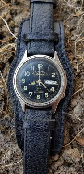 Sowan military antik mesin asli swiss automatic