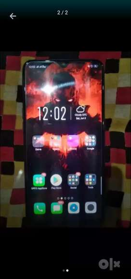 Oppo A7 4/64 with bill,box, charger .8months single hand phn