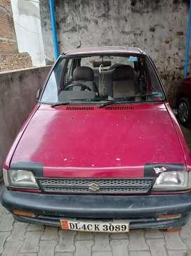 Maruti 800 Gas or petrol dono p chl rahi h usb or chip wala music