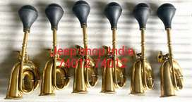 High quality brass bhopu horn for cars and jeeps
