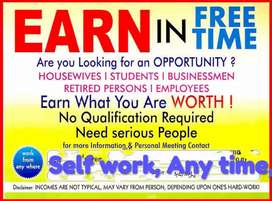 Start Self Work Any Time Any Place