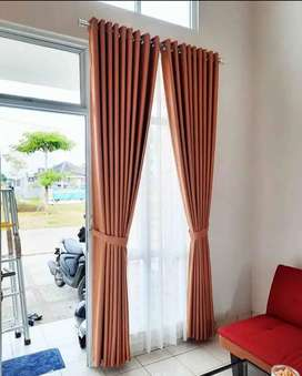 Kordeng Gorden minimalis tirai jendela