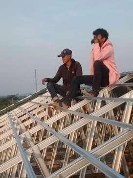 kanopi dan atap rumah baja ringan