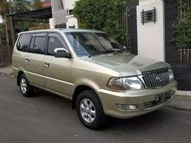 Toyota kijang lgx 1.8 manual th 2004 new model BG palem