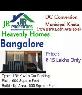 Low price land and best villa at Bangalore