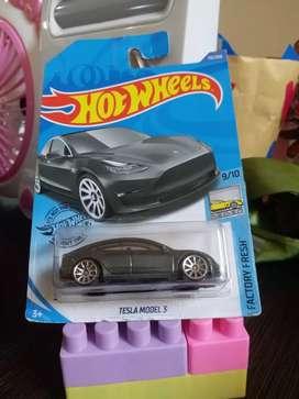 Hotwheels Tesla Model 3