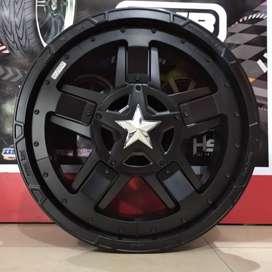 Velg mobil murah ring 20 HSR Rasta3    Rubicon JK CRV Innova Xpander