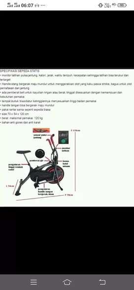 06 alat fitness platinum bike 2in1