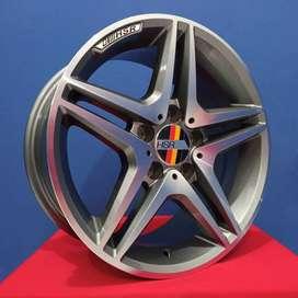 velg mobil mercy ring 18 R18 model HSR S500 R18 H5x112 innova hrv chr