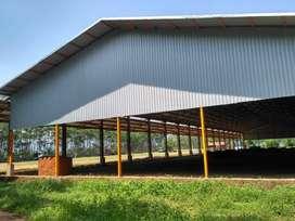 Gudang  untuk pabrik di Pantura Weleri Kendal 23000/7000