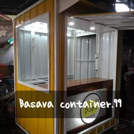 Booth bazzar, booth container, booth dimsum, booth makanan, booth