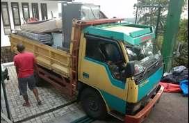 Jasa pindahan Sewa truk engkel CDE & mobil pick up bak losbak terbuka