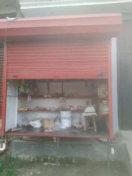 Shop made with iron sheet