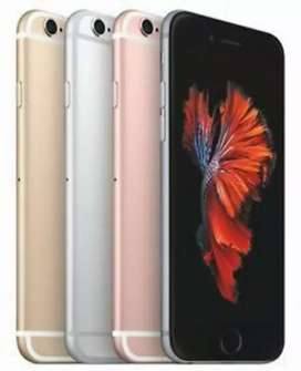 BUY NEW IPHONE 6S 64GB-15500/- ONLY WITH WARRANTY