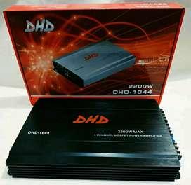 Power Amplifier Audio Booster 2200watt 4 channel