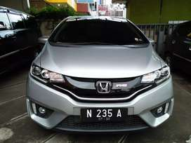 Honda Jazz Rs km 35 rb manual 1.5L 2014 abu-abu muda metalik
