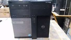 Dell t1650/3rd gen Intel Xeon e3-1220 v2/4gb/320gb/512mb GPU