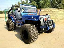 Modified open Jeep gypsy Thar new look