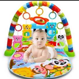 Baby play gym piano